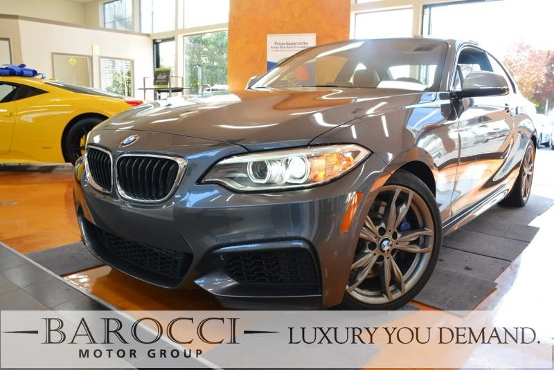 2015 BMW 2 Series M235i 2dr Coupe Automatic Gray Red Up for sale is this frontline ready one ow