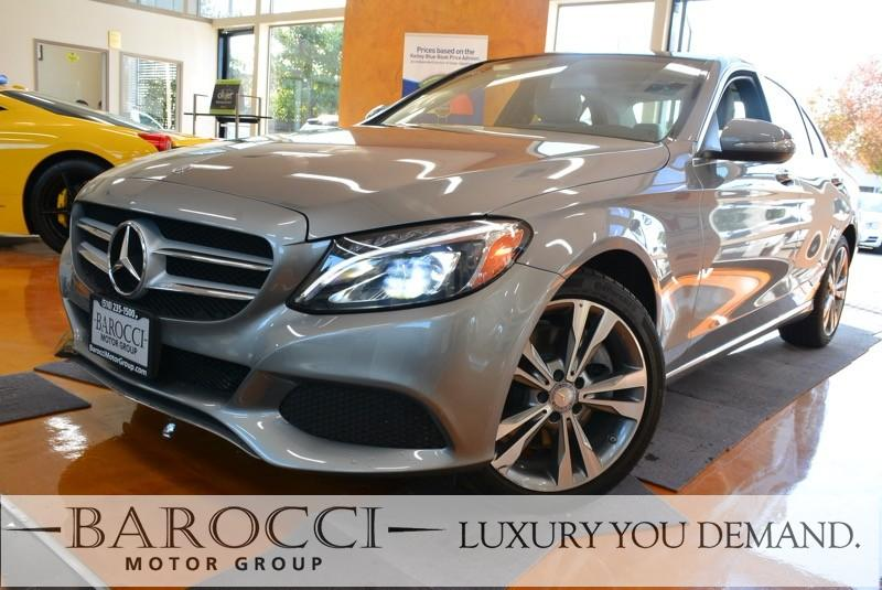 2015 MERCEDES C-Class C 300 4MATIC AWD  4dr Sedan 7 Speed Auto Silver We are proud to offer this