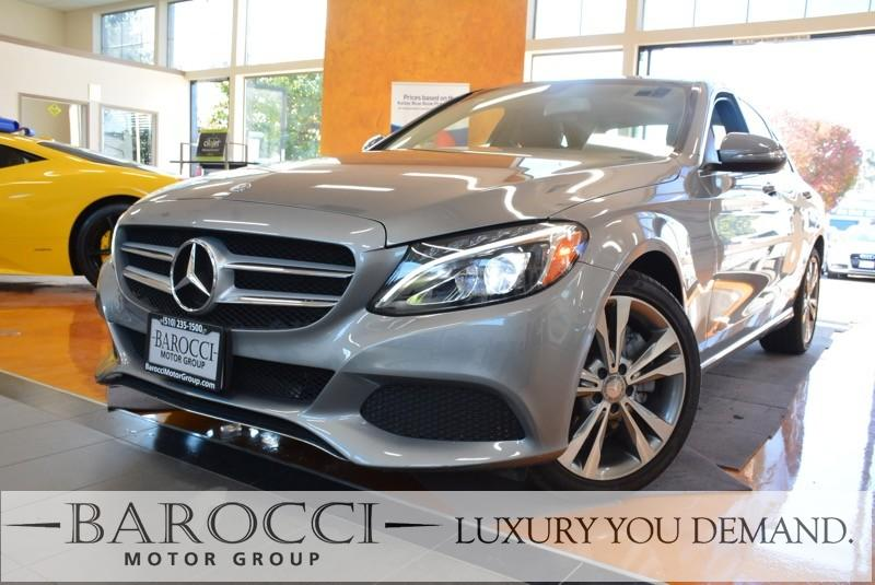 2015 MERCEDES C-Class C 300 4MATIC AWD  4dr Sedan 7 Speed Auto Silver Black This is this fantas