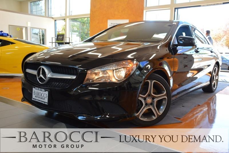 2014 MERCEDES CLA CLA 250 4dr Sedan 7 Speed Auto Black Up for sale is a very nice one owner 2014