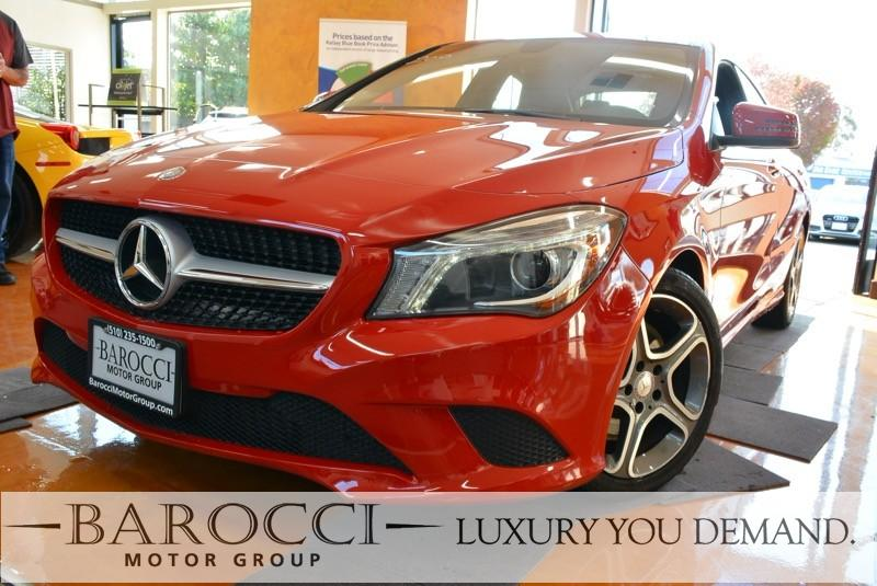 2014 MERCEDES CLA CLA 250 4dr Sedan 7 Speed Auto Red This is a very nice one owner 2014 Mercedes