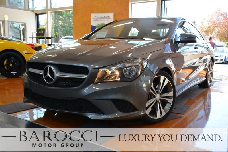 2015 MERCEDES CLA CLA 250 4dr Sedan 7 Speed Auto Gray This is an exquisite one owner 2015 Merced