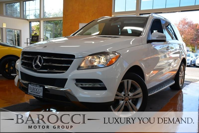 2015 MERCEDES M-Class ML 350 4dr SUV 7 Speed Auto White This is a wonderful one owner 2015 Merce
