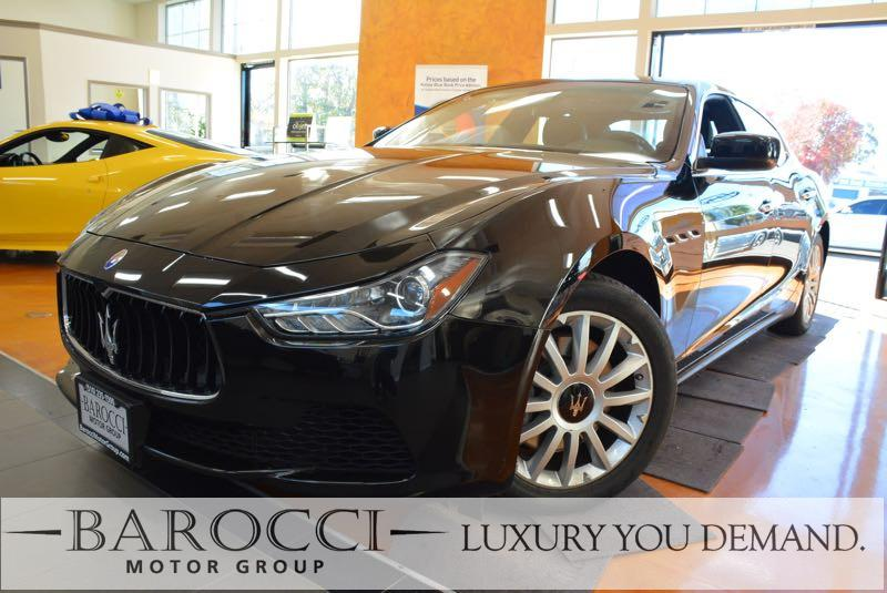 2014 Maserati Ghibli 4dr Sedan 8 Speed Auto Black You are looking at an excellent one owner 2014
