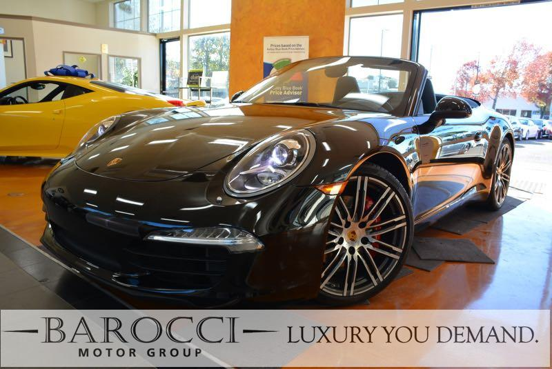 2015 Porsche 911 Carrera S 2dr Convertible 6-Speed Manual  Black We are pleased to offer a beaut