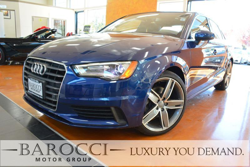 2015 Audi A3 18T Premium Plus 4dr Sedan 6 Speed Auto Blue You are looking at an immaculate one