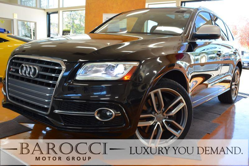 2015 Audi SQ5 30T quattro Premium AWD  4dr SUV 8 Speed Auto Black We are proud to offer a super