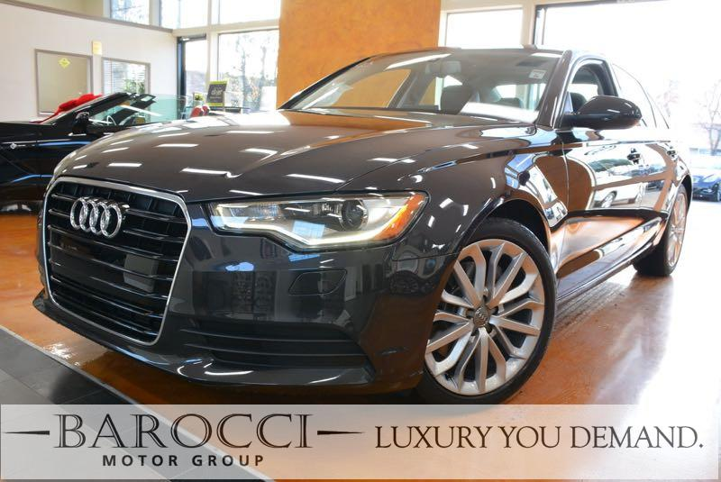 2014 Audi A6 20T Premium 4dr Sedan Automatic Gray This is a great one owner 2014 Audi A6 that i