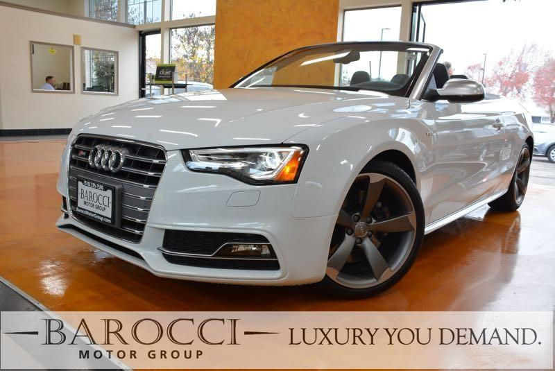 2017 Audi S5 30T quattro AWD  2dr Convertible 7 Speed Auto White This is a sublime one owner 20