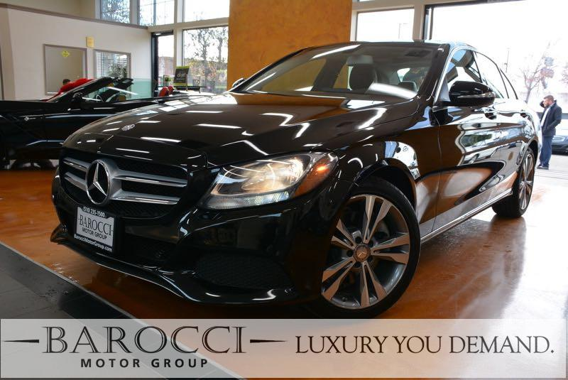 2015 MERCEDES C-Class C 300 4MATIC AWD  4dr Sedan 7 Speed Auto Black We are excited to offer a v