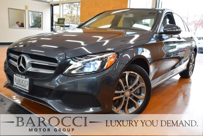 2015 MERCEDES C-Class C 300 4MATIC AWD  4dr Sedan 7 Speed Auto Gray You are looking at an exquis