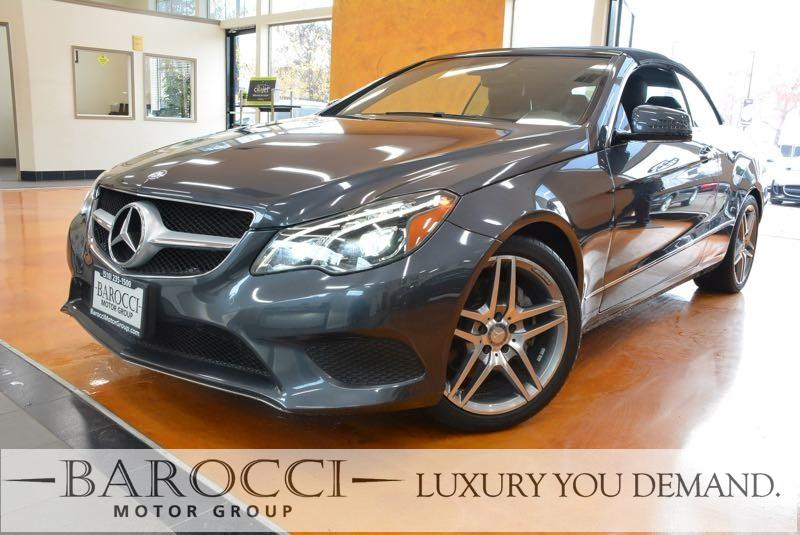 2014 MERCEDES E-Class E 350 2dr Convertible 7 Speed Auto Gray You are looking at a super nice on