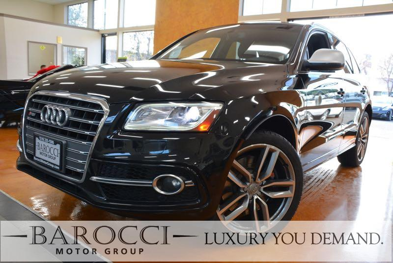 2014 Audi SQ5 30T quattro Premium AWD  4dr SUV 8 Speed Auto Black Black You are looking at a s