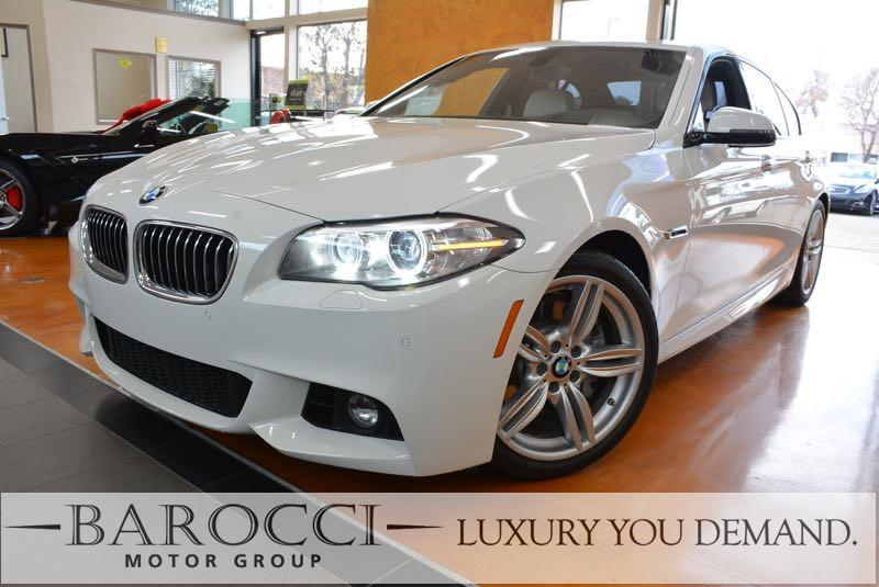 2015 BMW 5 Series 535i 4dr Sedan M SPORT Pkg 8-Speed Automatic White We are excited to offer a w