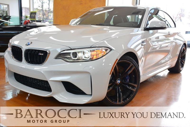 2016 BMW M2 Base 2dr Coupe 6 Speed Manual White Black Up for sale is this frontline ready one o