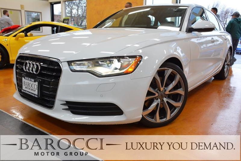 2015 Audi A6 20T quattro Premium AWD  4dr Sedan 8 Speed Auto White We are proud to offer a wond