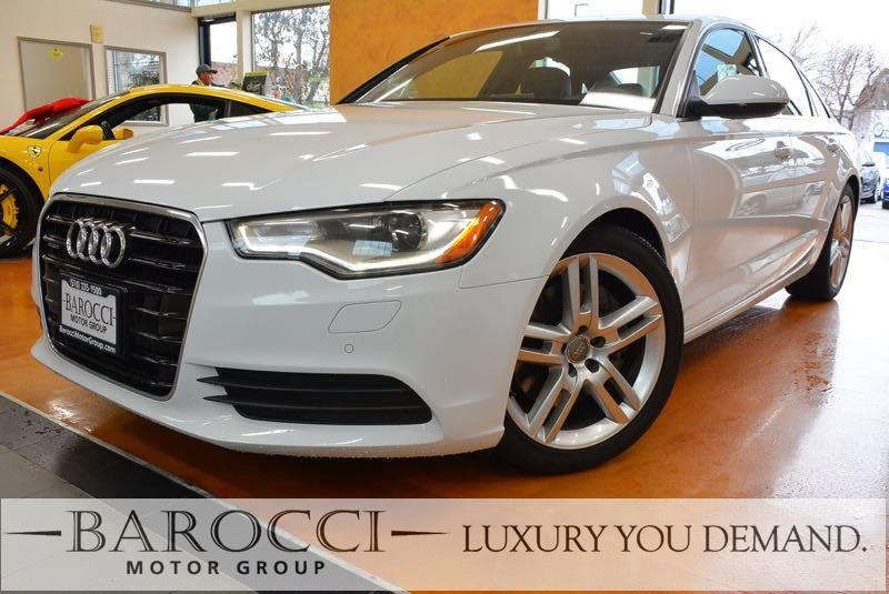 2015 Audi A6 20T quattro Premium AWD  4dr Sedan 8 Speed Auto White Now offering this fantastic