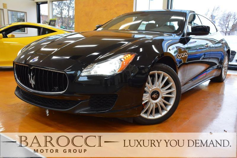 2014 Maserati Quattroporte S Q4 AWD  4dr Sedan 8 Speed Auto Black You are looking at a wonderful
