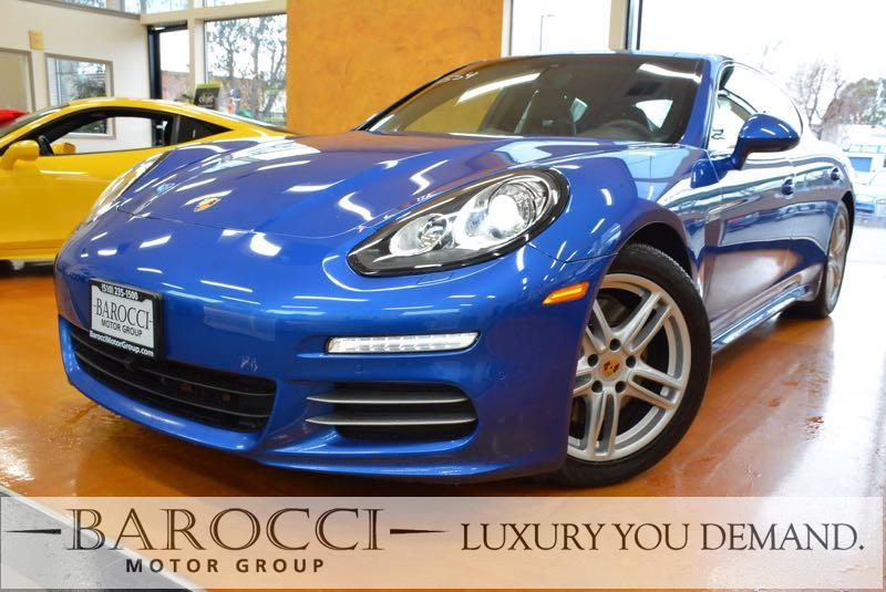 2016 Porsche Panamera 4 Edition AWD  4dr Sedan 7 Speed Auto Blue Now for sale is an excellent on