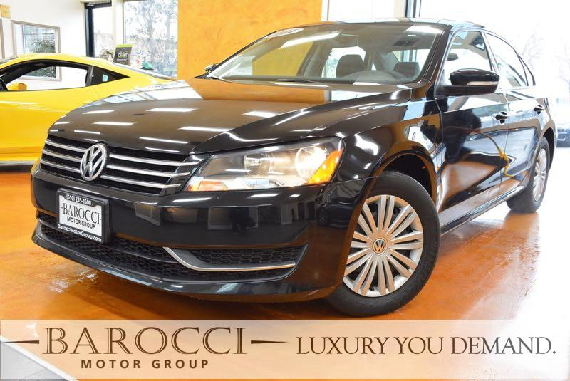 2014 Volkswagen Passat S PZEV 4dr Sedan 6A I5 6 Speed Auto Black We are proud to offer a great