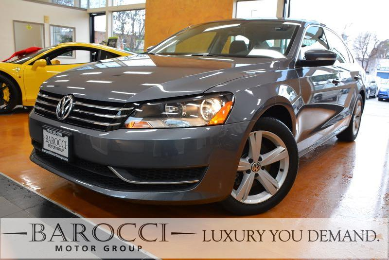 2014 Volkswagen Passat SE PZEV 4dr Sedan 6A I4 6 Speed Auto Gray Up for sale is a fabulous one
