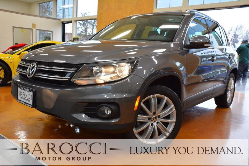 2015 Volkswagen Tiguan SE 4dr SUV 6 Speed Auto Gray Now for sale is an outstanding one owner 201