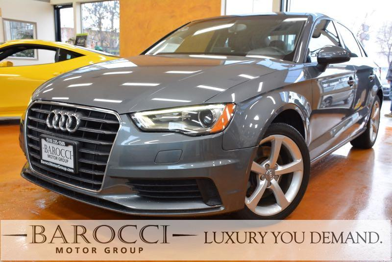 2015 Audi A3 18T Premium 4dr Sedan 6 Speed Auto Gray We are excited to offer a delightful one o