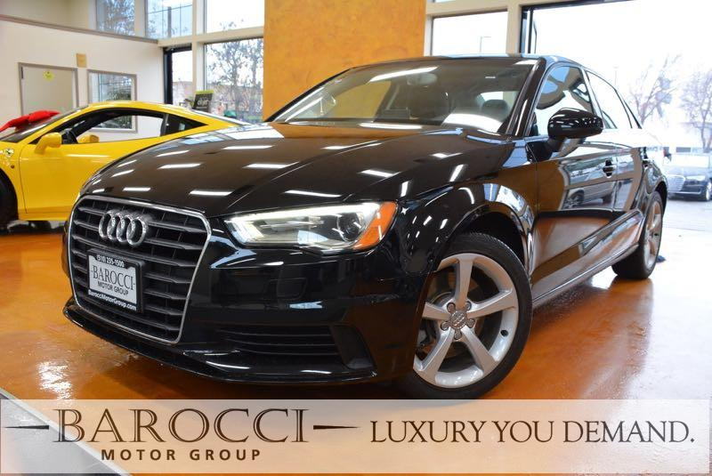 2015 Audi A3 18T Premium  4dr Sedan 6 Speed Auto Black We are pleased to offer a clean one owne