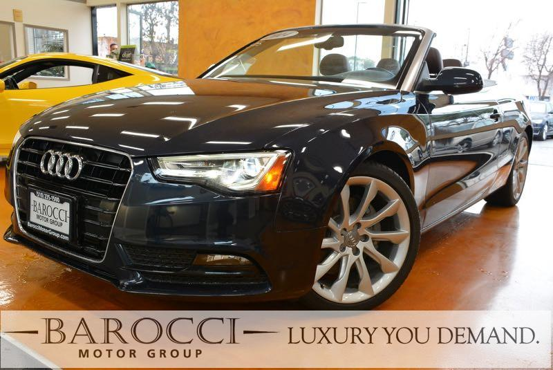 2014 Audi A5 20T Premium Plus 2dr Convertible Continuously Variable Transmission Blue You are l
