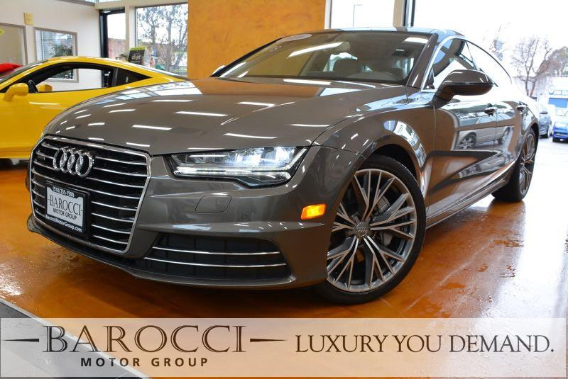 2016 Audi A7 30T quattro Premium AWD  4dr Sedan 8 Speed Auto Gray We are proud to offer a terr