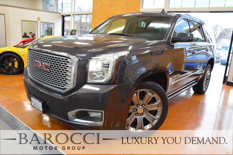 2015 GMC Yukon Denali 4x2  4dr SUV Automatic Gray We are excited to offer a terrific one owner