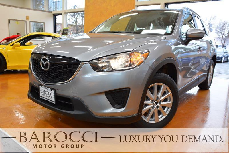 2015 Mazda CX-5 Sport 4dr SUV 6A 6 Speed Auto Silver This is a great one owner 2015 Mazda CX-5 t