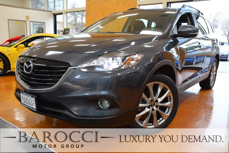 2015 Mazda CX-9 Grand Touring 4dr SUV 6 Speed Auto Gray We are excited to offer a terrific one