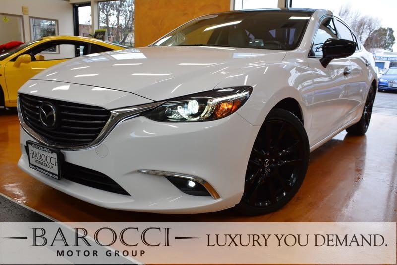 2017 Mazda Mazda6 Grand Touring 4dr Sedan 6 Speed Auto White You are looking at a great one owne