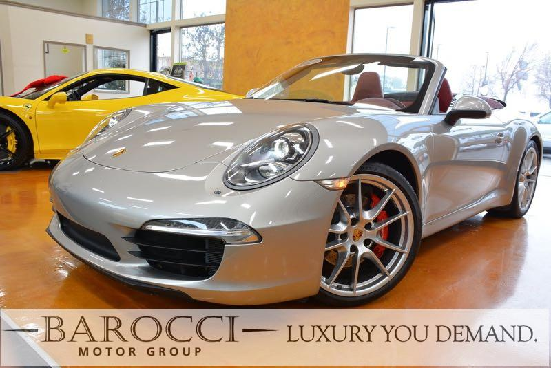 2012 Porsche 911 Carrera S   2dr Convertible 6-Speed Manual  Gray You are looking at a great one