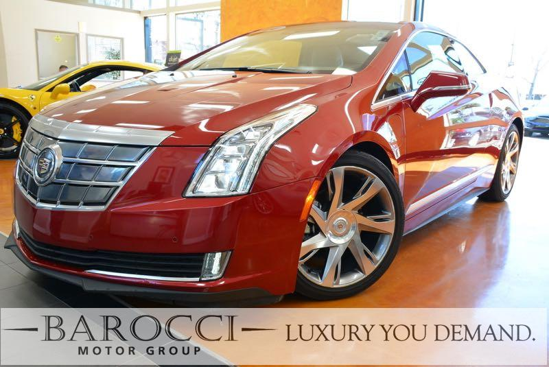 2014 Cadillac ELR Luxury 2 DR COUPE Continuously Variable Transmission Red Brown You are lookin