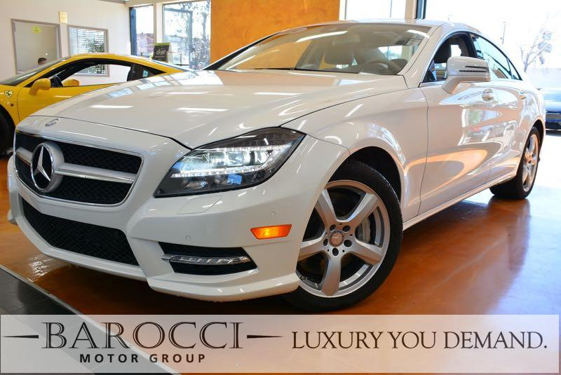 2014 MERCEDES CLS-Class CLS550 4MATIC 7-Speed Automatic White Brown You are looking at a super