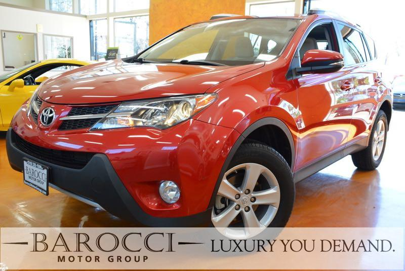 2014 Toyota RAV4 XLE 4dr SUV 6 Speed Auto Red We are excited to offer a very nice one owner 2014
