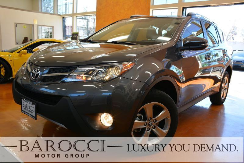 2015 Toyota RAV4 XLE 4dr SUV 6 Speed Auto Gray You are looking at a great one owner 2015 Toyota