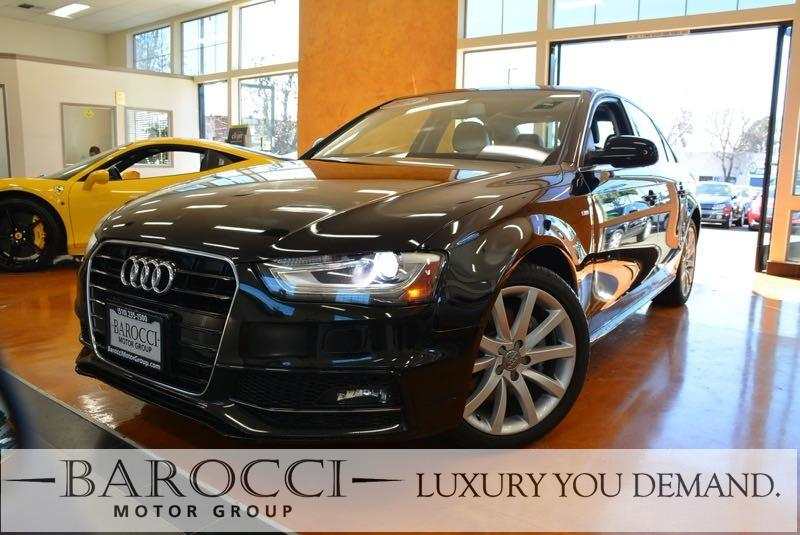 2014 Audi A4 20T Premium 4dr Sedan Automatic CVT Black We are excited to offer a super nice one