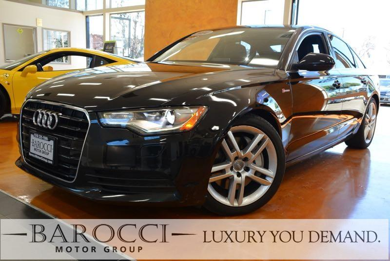 2014 Audi A6 30T quattro Premium Plu AWD 8 Speed Auto Black We are proud to offer a striking on