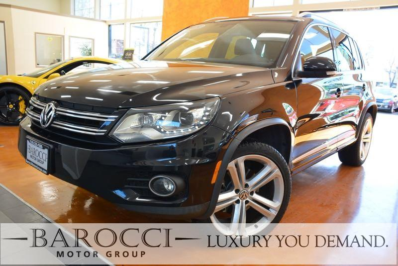 2015 Volkswagen Tiguan R-Line 4dr SUV 6 Speed Auto Black We are proud to offer a terrific one ow