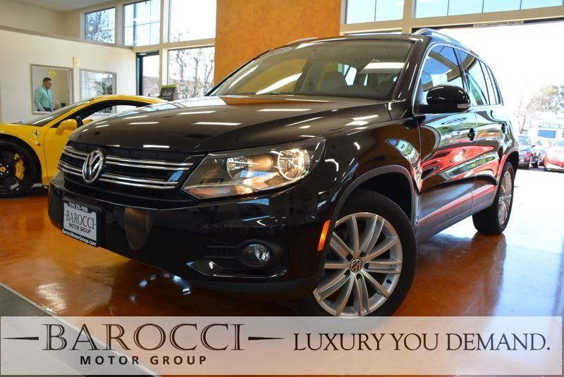 2015 Volkswagen Tiguan SEL 4dr SUV 6 Speed Auto Black Now offering an immaculate one owner 2015