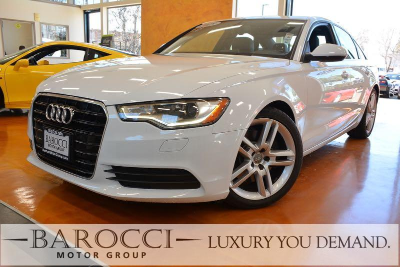 2015 Audi A6 20T quattro Tiptronic Automatic White Now for sale is an exquisite one owner 2015