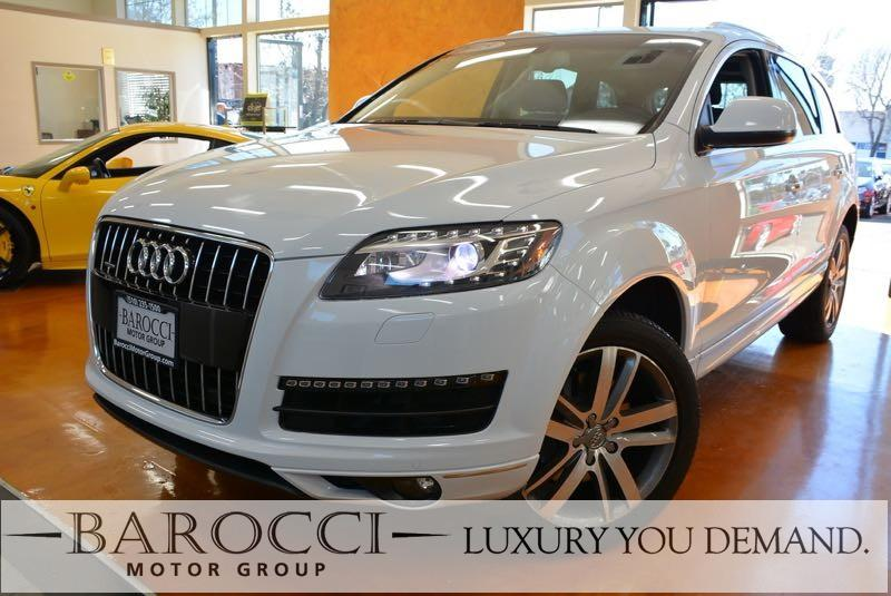2015 Audi Q7 30T Premium Plus quattro 8-Speed Automatic White Up for sale is an immaculate one
