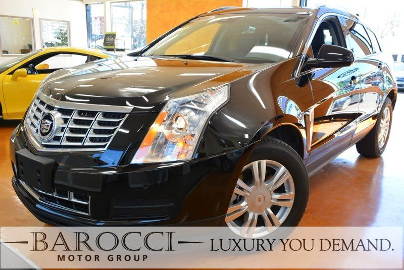 2016 Cadillac SRX Luxury Collection 4dr SUV 6 Speed Auto Black Black Luxury You Demand Air Con