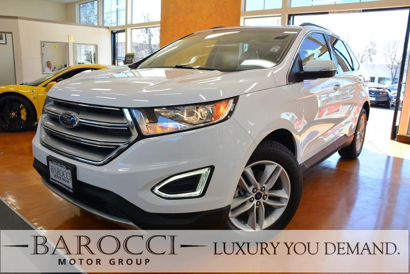2015 Ford Edge SEL 4dr SUV 6 Speed Auto White Beige We are pleased to offer an excellent one ow