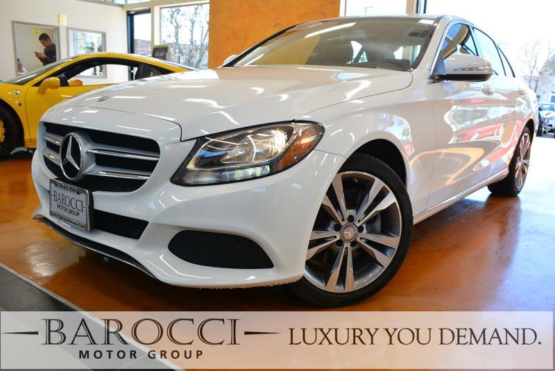 2015 MERCEDES C-Class C 300 4MATIC AWD  4dr Sedan 7 Speed Auto White This is a sublime one owner