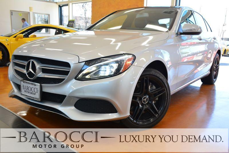 2015 MERCEDES C-Class C 300 4MATIC AWD  4dr Sedan 7 Speed Auto Silver This is an outstanding one