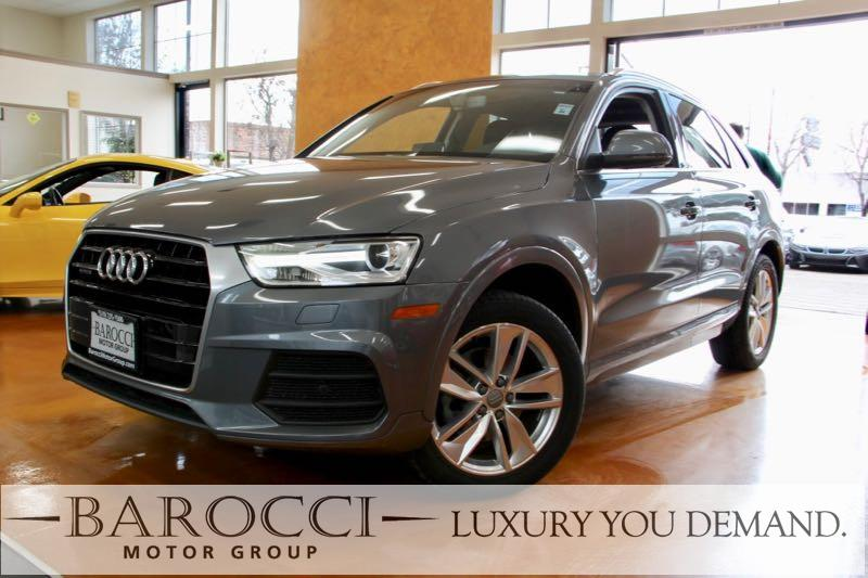 2016 Audi Q3 20T quattro Premium Plu AWD 6 Speed Auto Gray We are pleased to offer this fantast